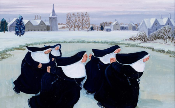 Winter at the Convent