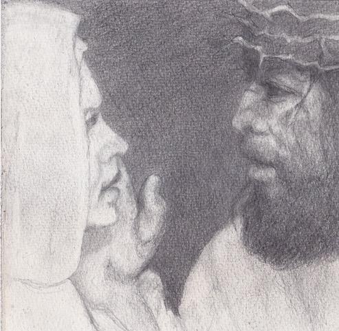Mater Dolorosa in Via Crucis